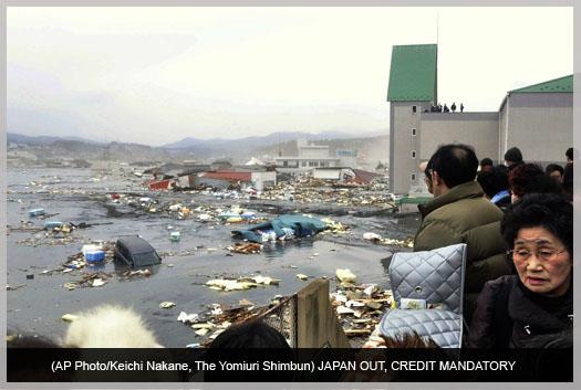 8.9 Earthquake Hits Japan