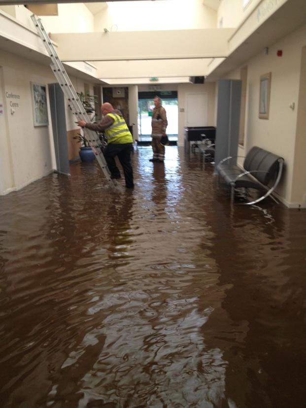 Praise Through the Storm: Flooding in Aberdeen, Scotland