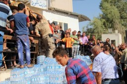 CRI Volunteers Aiding Refugees in Iraq