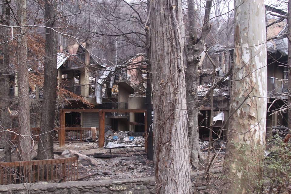 Somebody Cares Responds to Tennessee Wildfires