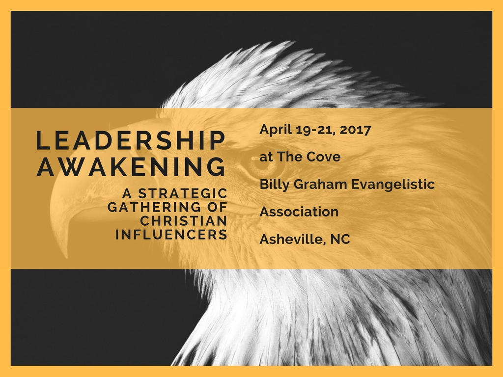 April 19-21: A Strategic Gathering for Christian Influencers