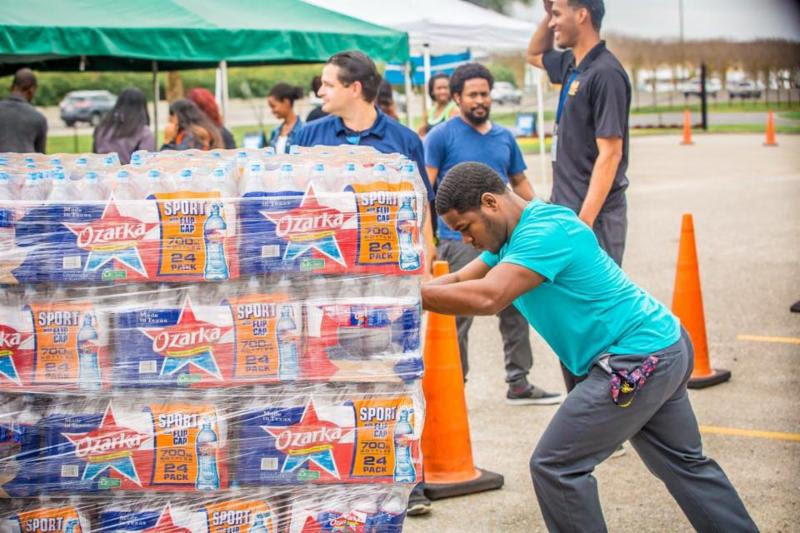 Emergency aid for New Orleans, housing for Haiti